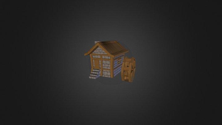 house_watermill 3D Model