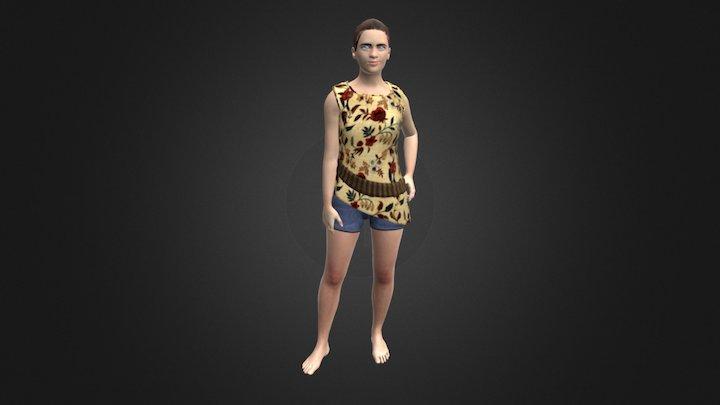 Female avatar 3D Model