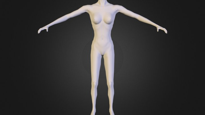 Female Body 3D Model