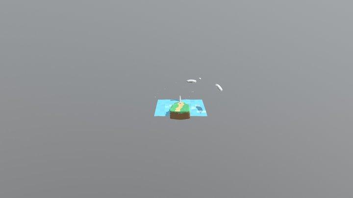 Hinomisaki 3D Model
