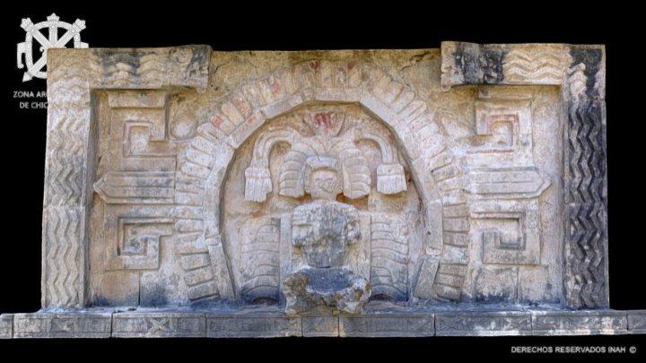 Personaje Sedente - Anexo Templo de las Monjas 3D Model