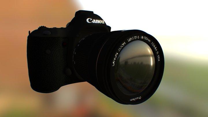 Сamera Canon 5D Mark III 3D Model