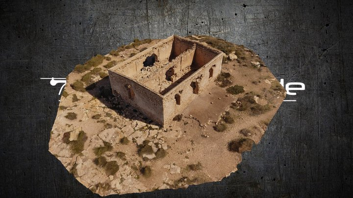 Ruin in Andalusia - reconstructed in RC 3D Model