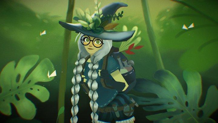 Vagabond Witch 3D Model