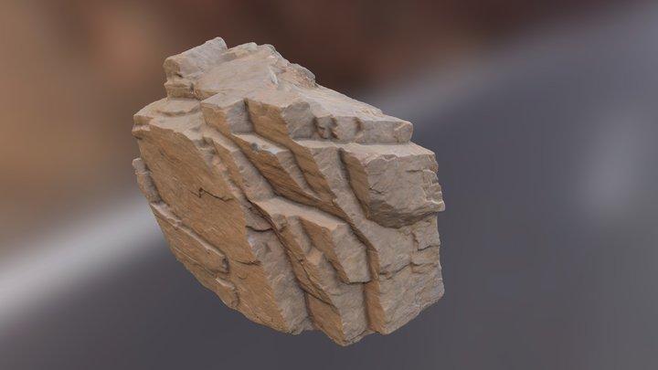 Big Cliff Rock 3D Model