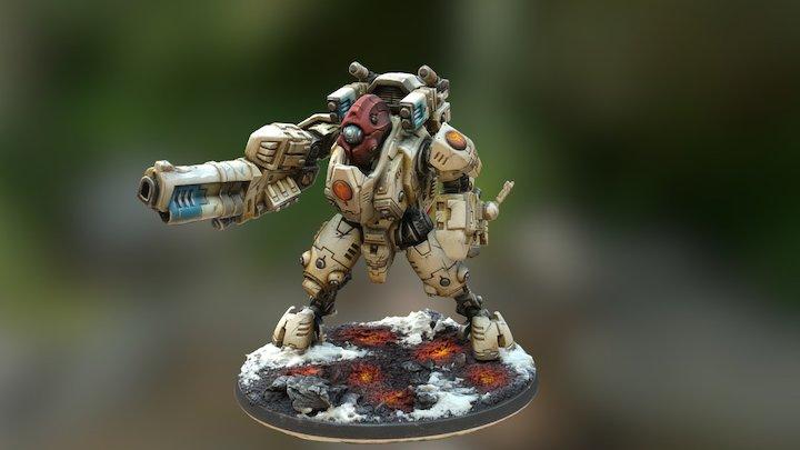 Vior'la Ghostkeel 3D Model