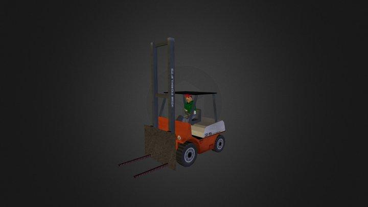 Gabelstapler Klein FR 3D Model