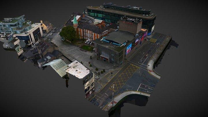 Cork Opera House & Crawford Gallery,Cork-Ireland 3D Model