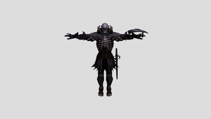 SkullKnight | Playermodel Garry's Mod 3D Model