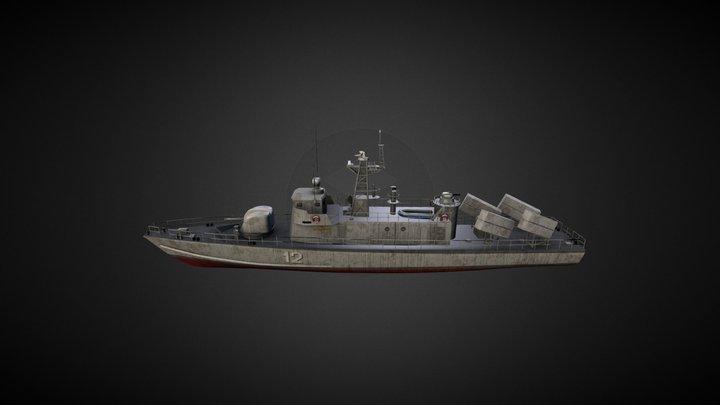RTOP-12 Kralj Dmitar Zvonimir 3D Model