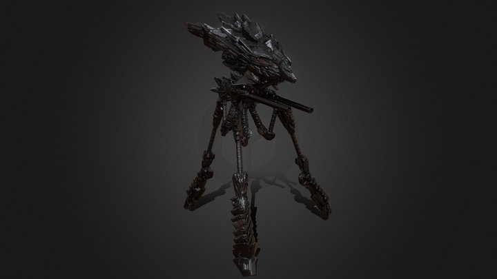 Terror Platform MKV 3D Model