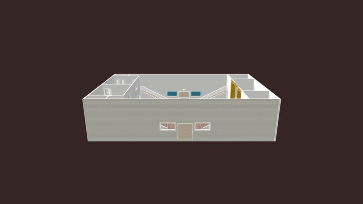 Second Floor 3D Model