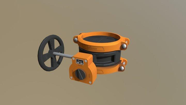 vicButterflyDraft 3D Model