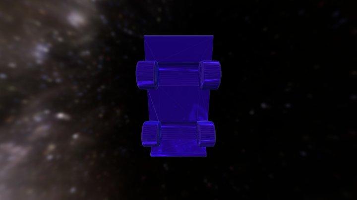 Monopoly Truck 3D Model