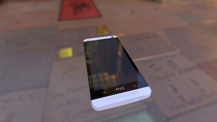HTC m7 3D Model