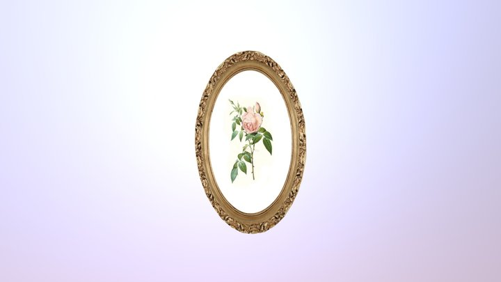 Picture and Frame 3D Model