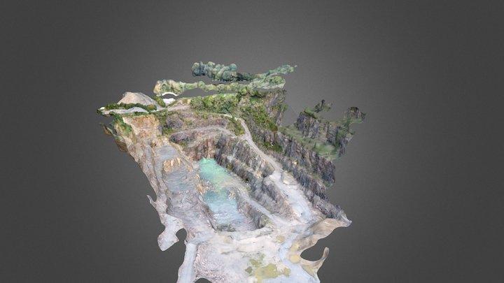 Carrière 3D Model