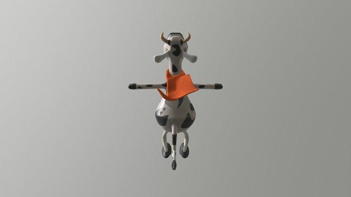 Otata 3D cow 3D Model
