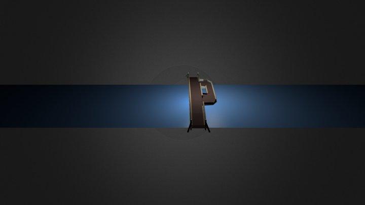 passerelle piétonne 1.4.blend 3D Model