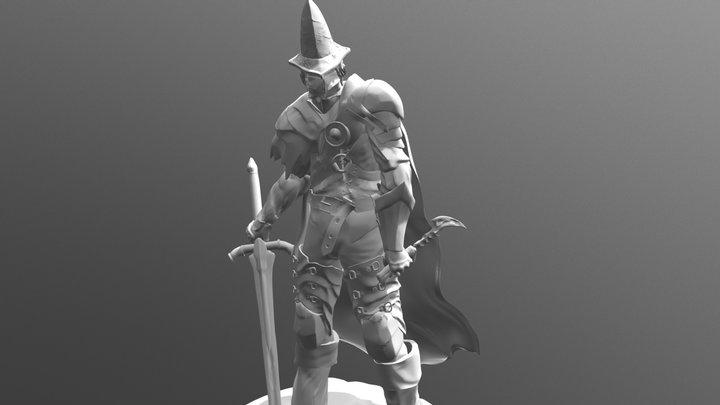 Abyss watcher 3D Model
