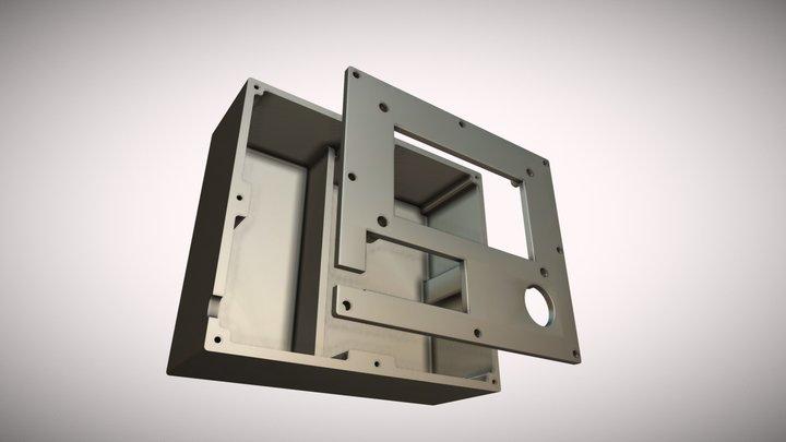 Transistor tester's box - for 3D print 3D Model