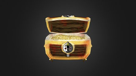 Hand Painted Chest (DMU Year 1) 3D Model