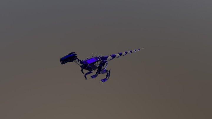 Masiakasaurus Attack Animations 3D Model