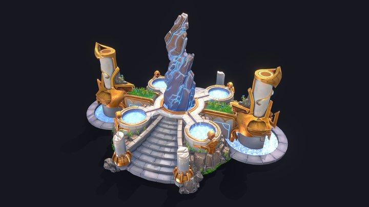 Aether Springs 3D Model