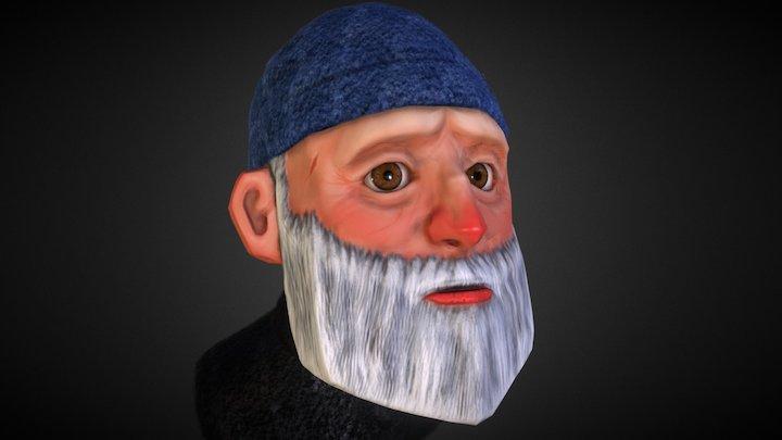 OLD Man Sketchfab 3D Model