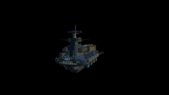 Indigo Class 3D Model