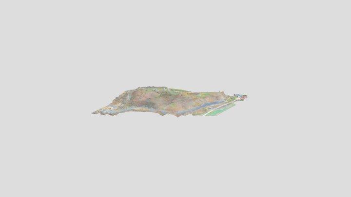 Tarvastu ordulinnus 3D Model