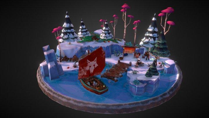 Fox's Tundra 3D Model