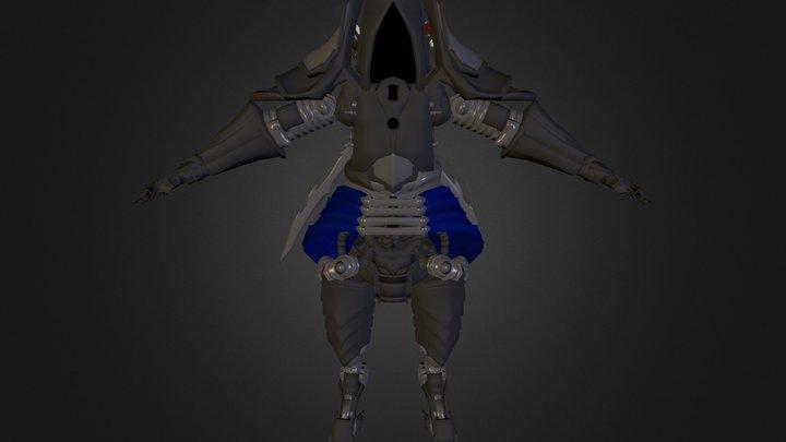 Robot Assasin 3D Model