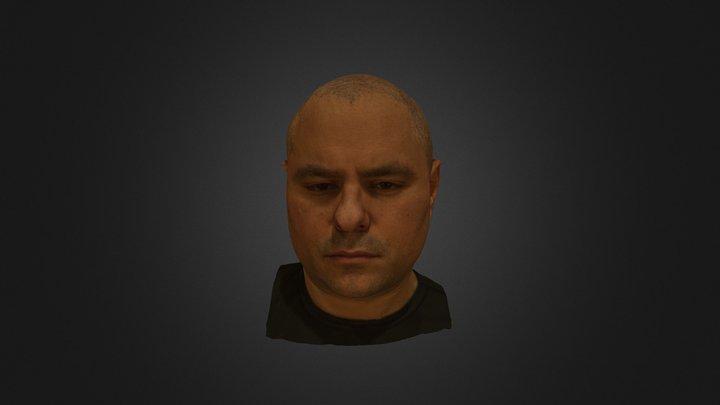 Dan Triplett Head Scan 3D Model