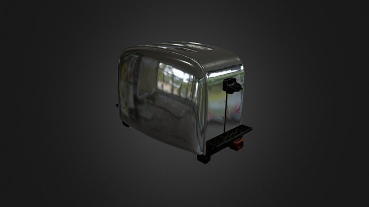 60s toaster 3D Model