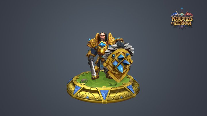 King's Guard Mythical Armor 3D Model