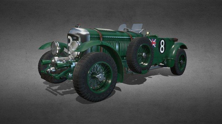 Bentley 4.5L Blower 1930 3D Model