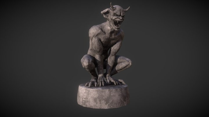 Gargoyle (MediEvil) 3D Model