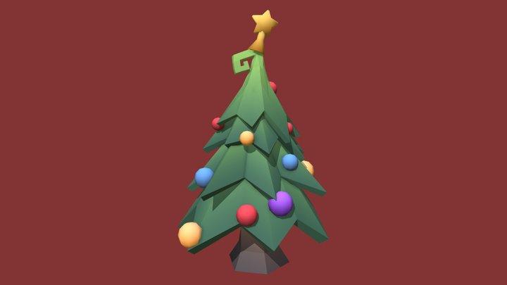 Low Poly Tree - Christmas tree 3D Model