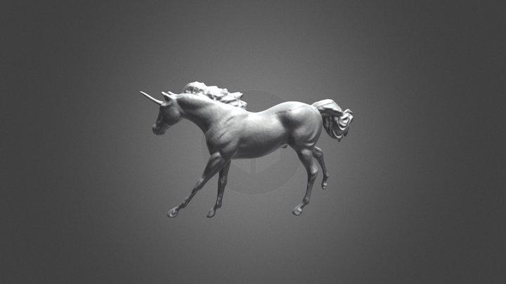 UNICORN Mesh No Texture by POP (stl) 3D Model
