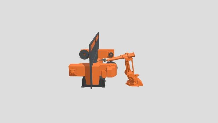 Robot Station 1 3D Model