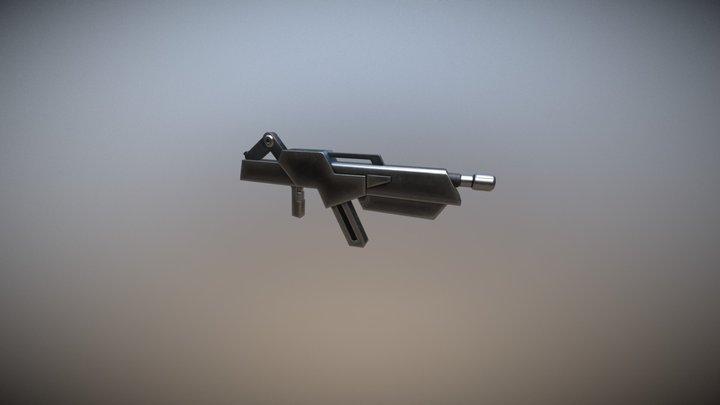 IO Frame Shiden Rifle 3D Model