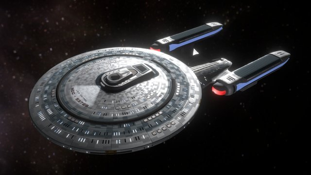 USS Calypso 3D Model