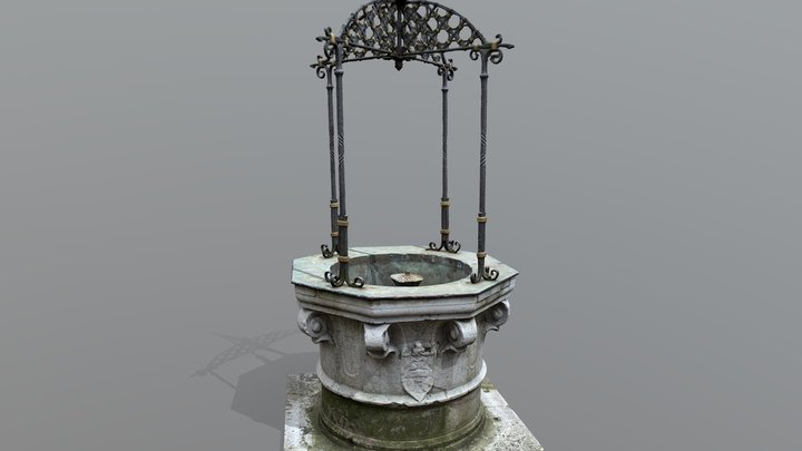Fountain (RealityCapture Version) 3D Model