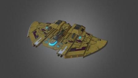 Castellan Class Escort ship (Small) 3D Model