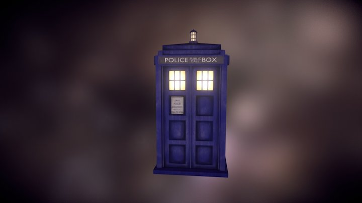 Tardis 3D Model for Ray! 3D Model