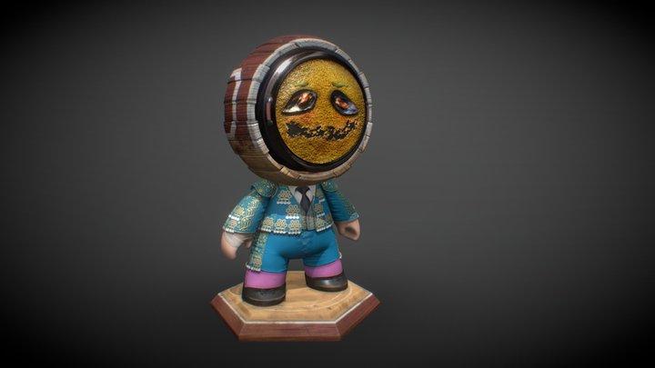 Meet Mat - ador! 3D Model