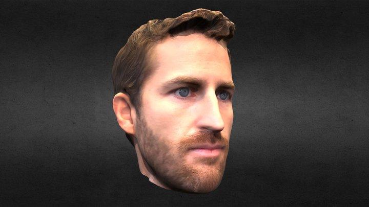 Jared Head Scan 3D 3D Model