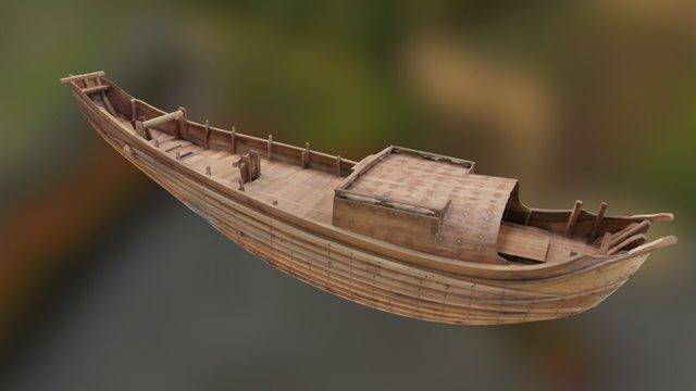 Free China Ship 3D Model