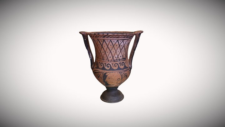 Etruscan Column Krater 3D Model